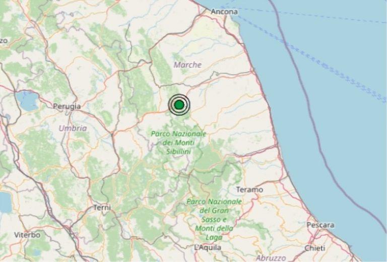 Terremoto nelle Marche oggi, giovedì 21 maggio 2020, scossa M 2.4 in provincia di Macerata – Dati Ingv