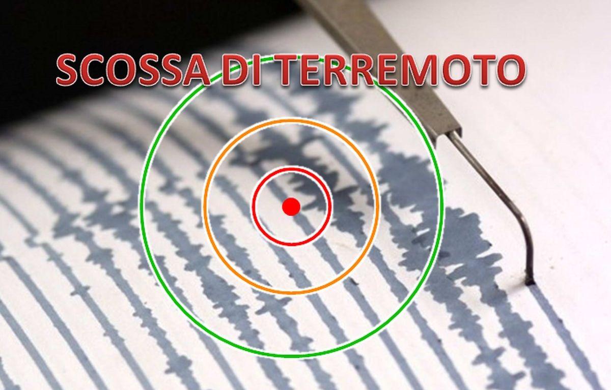 Intensa scossa di terremoto nel Mar Ionio poco fa: zone colpite e dati ufficiali del sisma