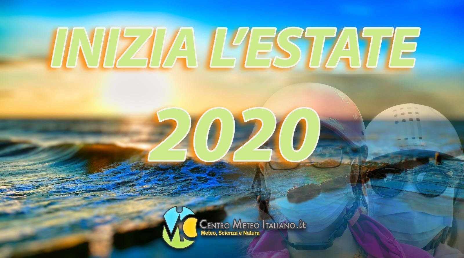 Meteo: Estate 2020 al via con i temporali sull'Italia.