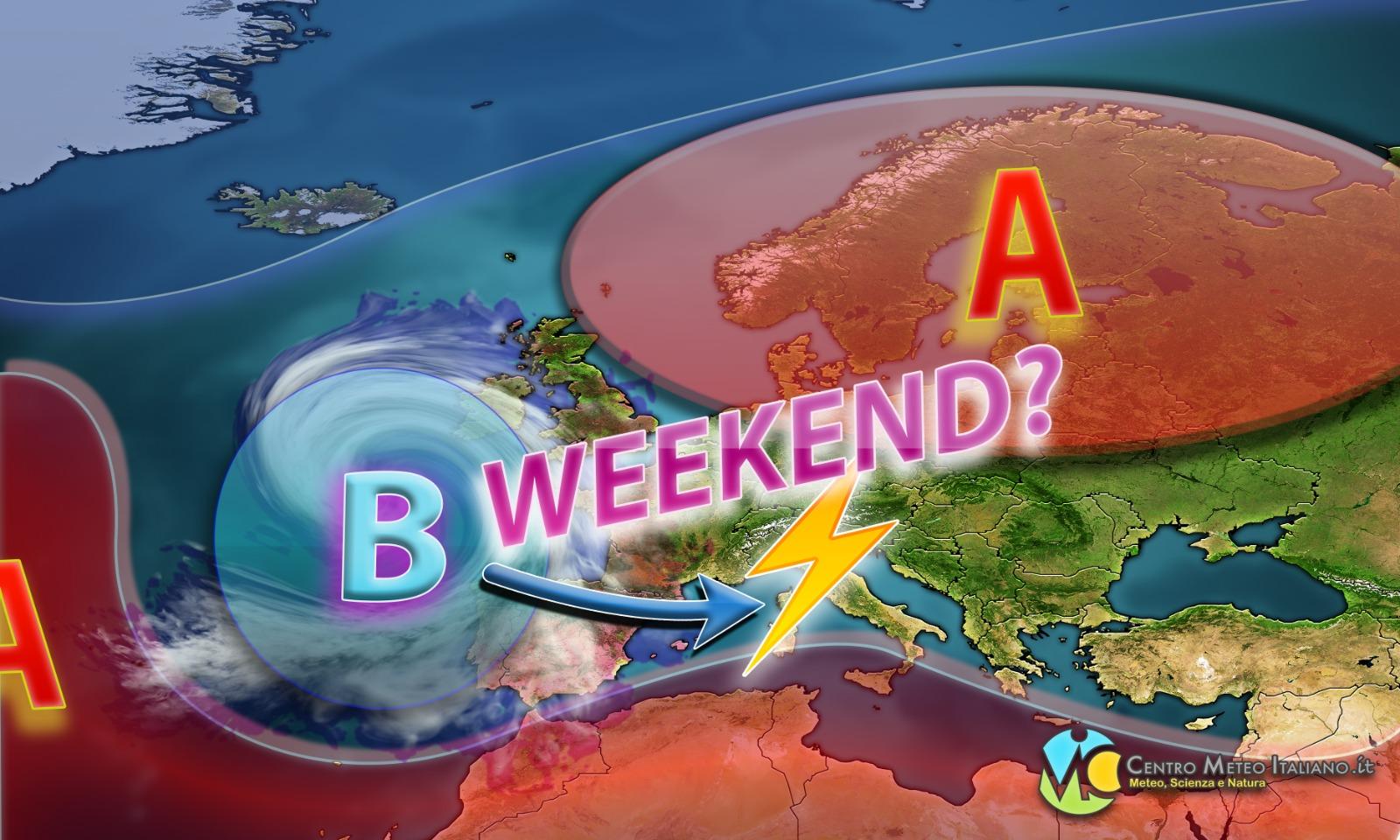 Nuovo peggioramento meteo nel weekend, vediamo i dettagli