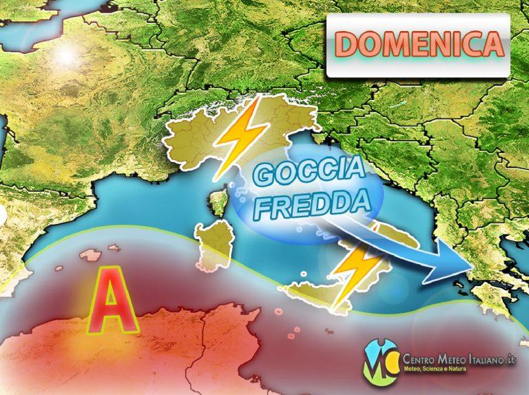 METEO ITALIA: Nuovi TEMPORALI in arrivo nel WEEKEND, l'ESTATE non riesce a prendere iniziativa