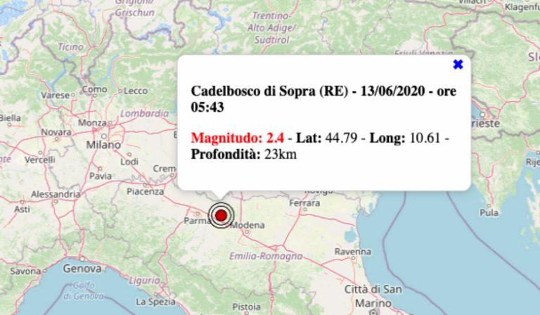 Emilia Romagna Cartina Province.Terremoto Oggi In Emilia Romagna Sabato 13 Giugno 2020 Scossa M 2 4 In Provincia Di Reggio