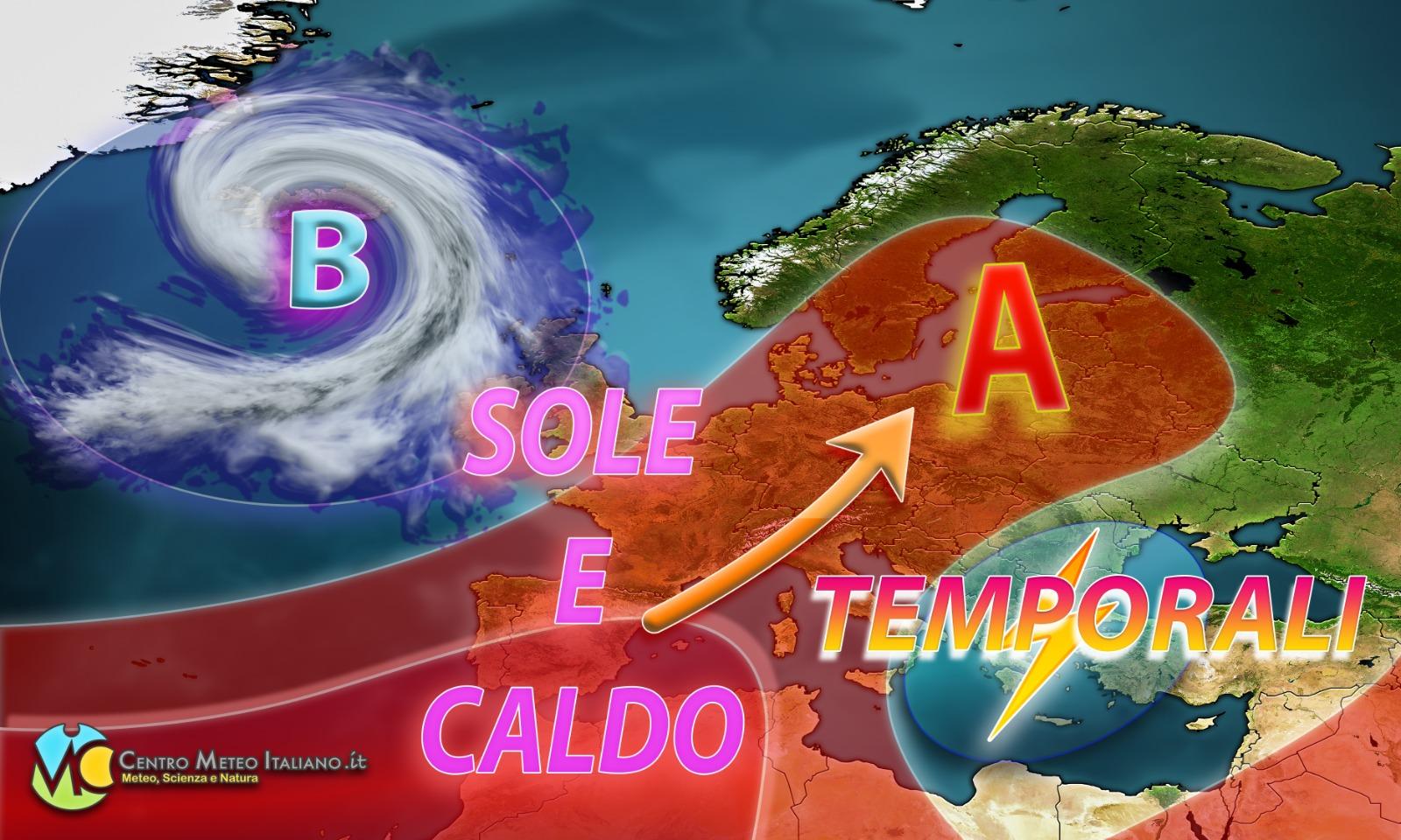 Previsioni meteo per la prossima settimana