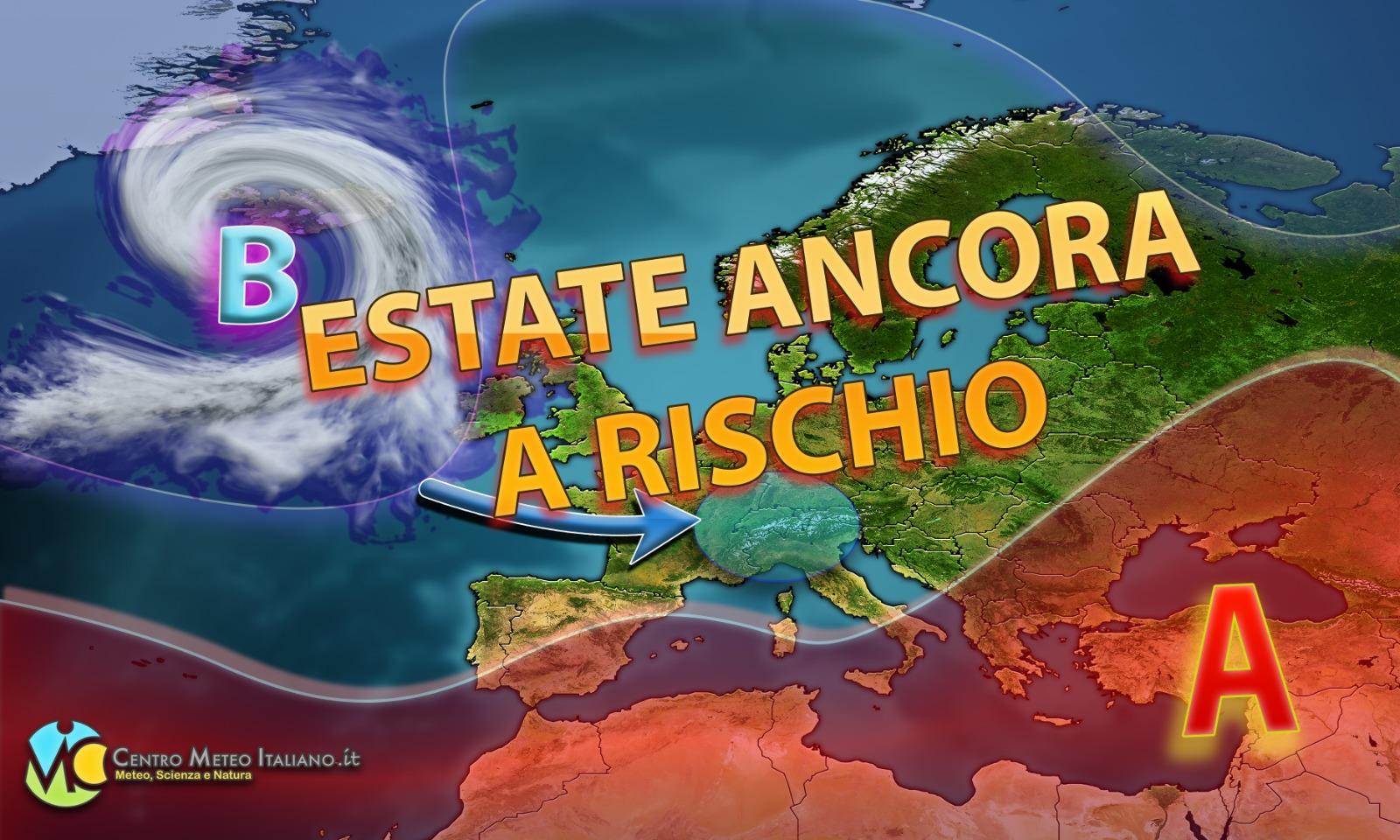 Tendenza meteo: torna l'anticiclone ma l'estate sarà ancora a rischio