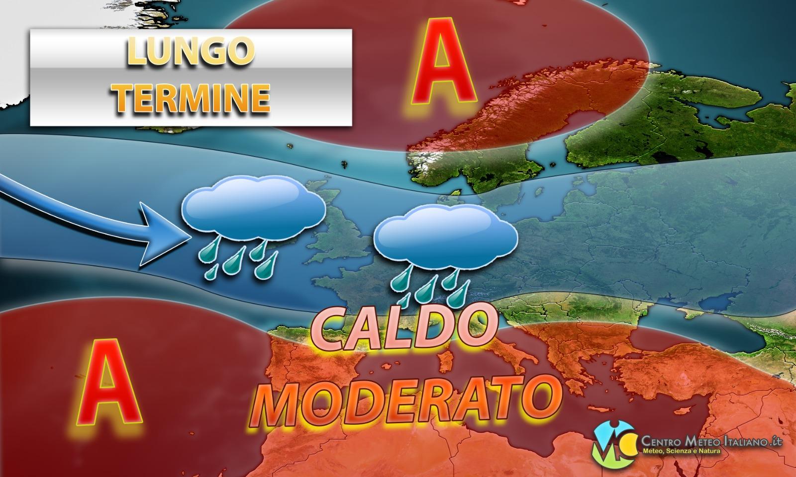 Meteo Estate: clima caldo in Italia ma senza eccessi.