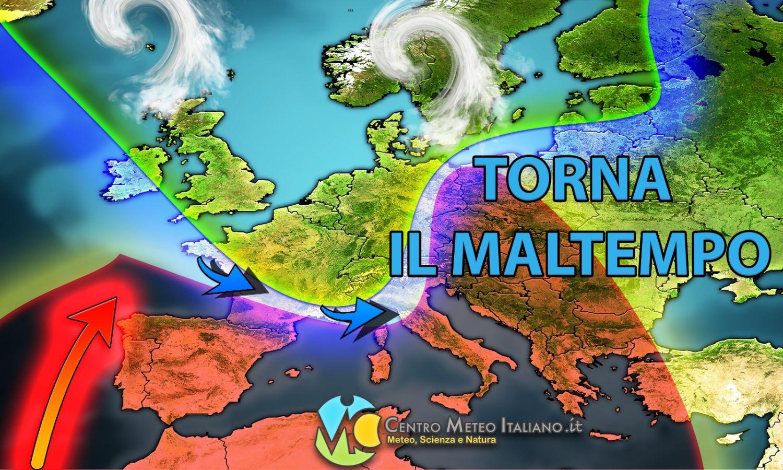 METEO ITALIA - Aumenta L'AFA sull'ITALIA, ma SCOPPIANO i primi TEMPORALI e GRANDINATE: zone colpite