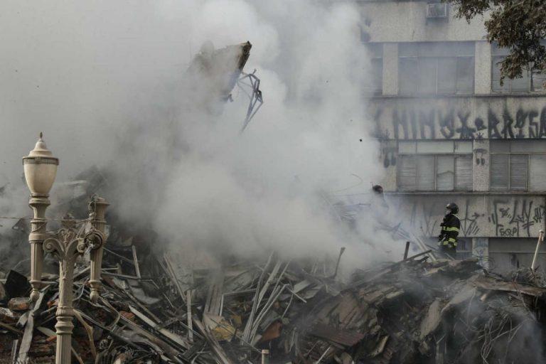 Fortissimo boato avvertito dalla popolazione e poi il crollo di parte di un edificio nel casertano. Paura e gente in strada