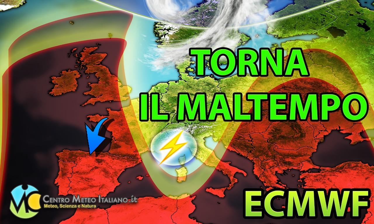 Nuovo assalto del maltempo sull'Italia? Tendenza meteo