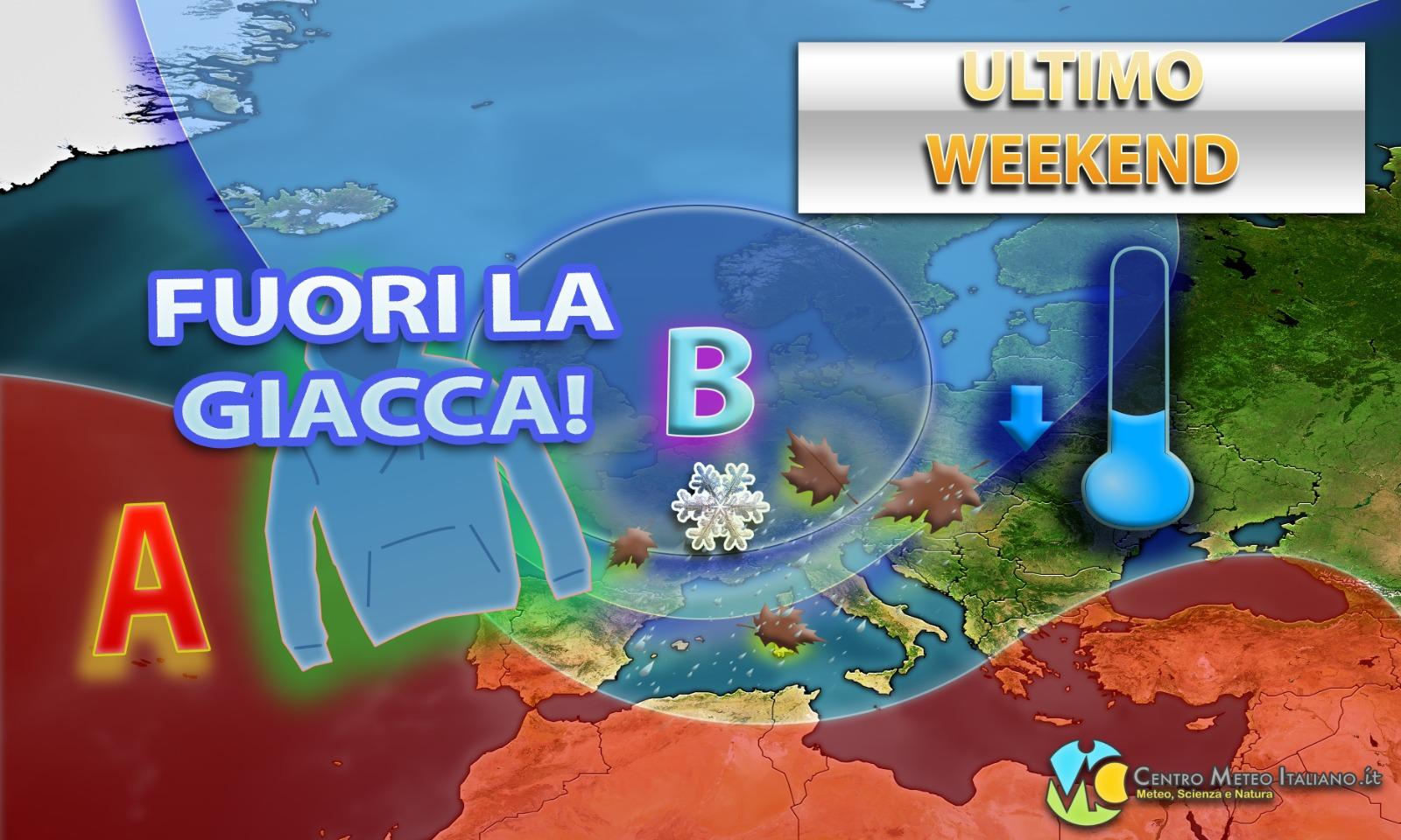 Meteo Autunno: maltempo e freddo in arrivo in Italia.