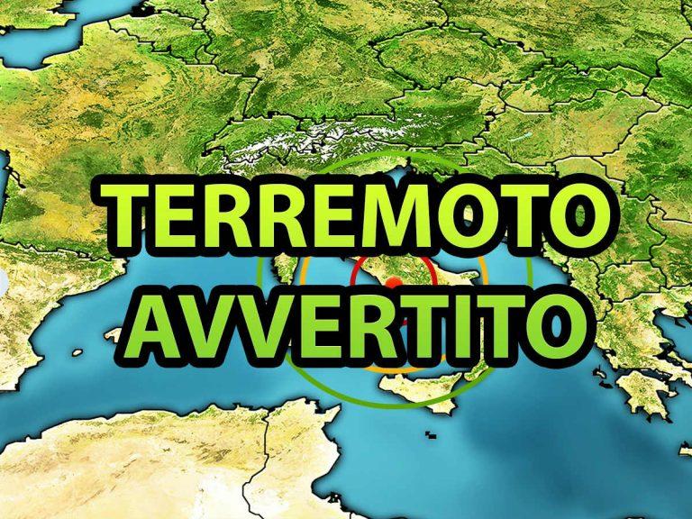 Scossa di terremoto nettamente avvertita dalla popolazione: sisma registrato dall'INGV in provincia di Pistoia. I dati ufficiali