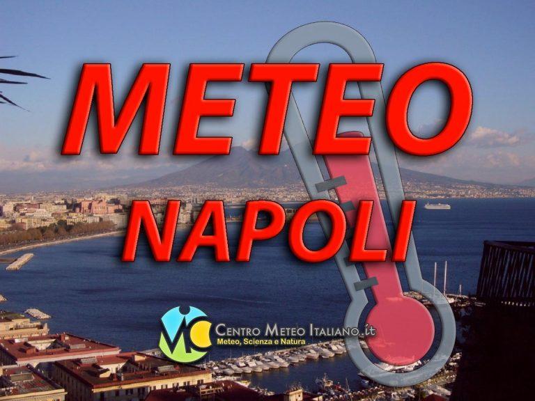 METEO NAPOLI – Incontro ad un miglioramento del tempo, ecco le previsioni