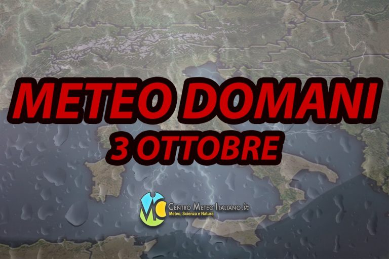 PREVISIONI METEO – anche il CENTRO ITALIA nel mirino del maltempo, temporali nelle prossime ore