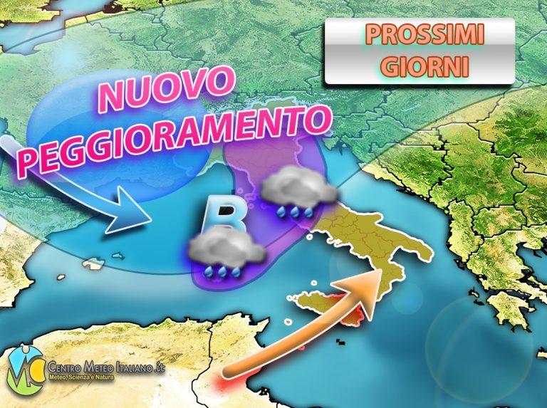 METEO – Entriamo nel vivo dell' AUTUNNO con una nuova ondata di MALTEMPO per l'ITALIA, ecco le regioni più a rischio