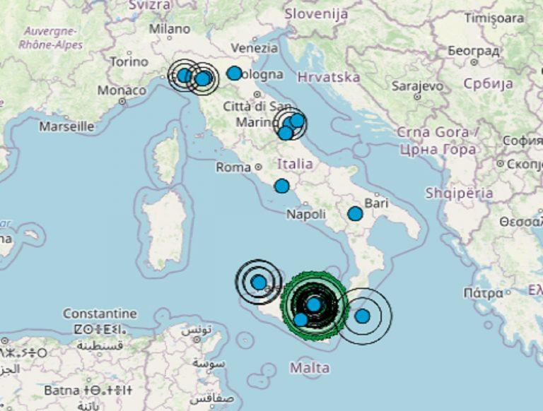 Terremoto, l'Italia del sud sta ricominciando a tremare: nuove scosse registrate dall'INGV in provincia di Enna. I dati ufficiali