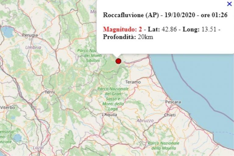 Terremoto nelle Marche oggi, lunedì 19 ottobre 2020 ...