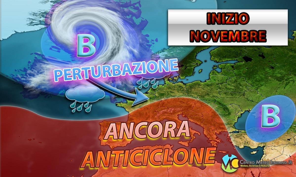 METEO - La PERTURBAZIONE abbandona l'Italia, torna l'ANTICICLONE