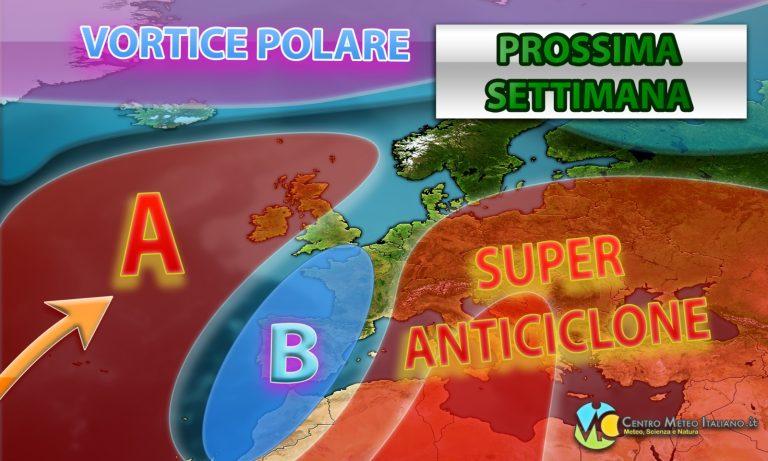 METEO NAPOLI – Stop al MALTEMPO, largo a giornate di SOLE e TEMPERATURE oltre la media, ecco le previsioni