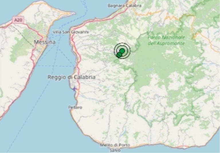 Terremoto oggi Calabria, giovedì 29 ottobre 2020, scossa M 2.9 in provincia Reggio Calabria | Dati Ingv