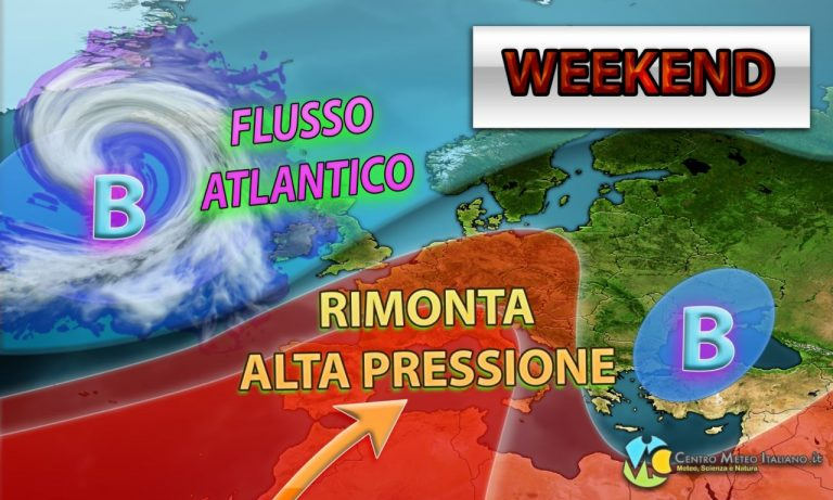 METEO – WEEKEND di HALLOWEEN alle prese con una robusta ALTA PRESSIONE e TEMPERATURE anche oltre la media