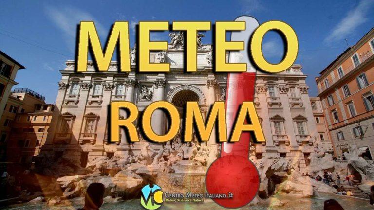 METEO ROMA: ANTICICLONE ad oltranza con BEL TEMPO e TEMPERATURE anche oltre la media, ecco le previsioni