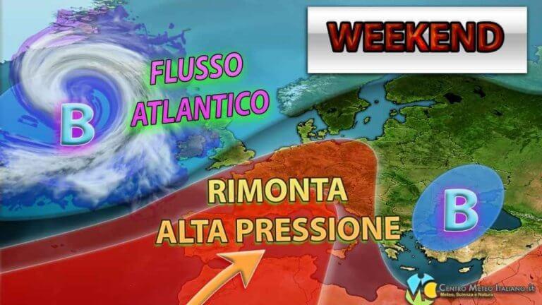 METEO – ANTICICLONE a tutto SPIANO per OGGI, fase STABILE e asciutta sull'ITALIA: ecco i dettagli
