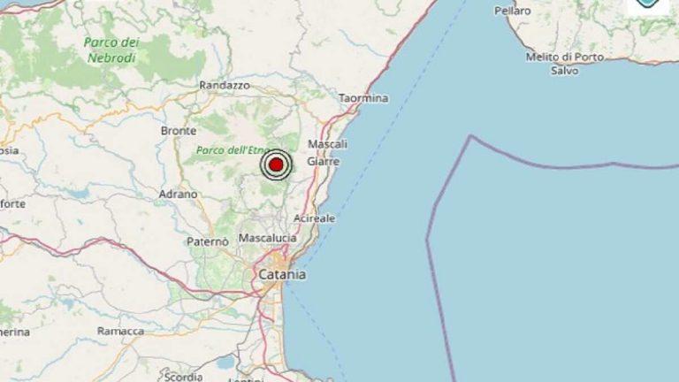 Terremoto in Sicilia oggi, domenica 8 novembre 2020, scossa M 2.5 in provincia di Catania | Dati Ingv