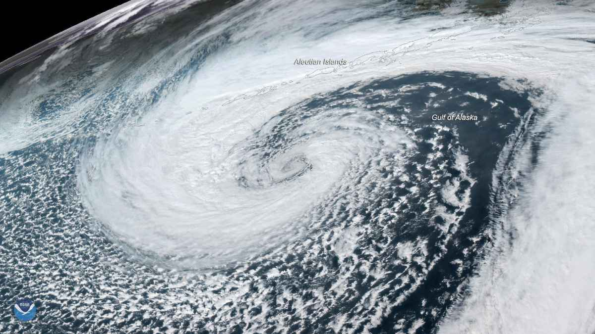 Uragano, immagine di repertorio fonte ANSA.