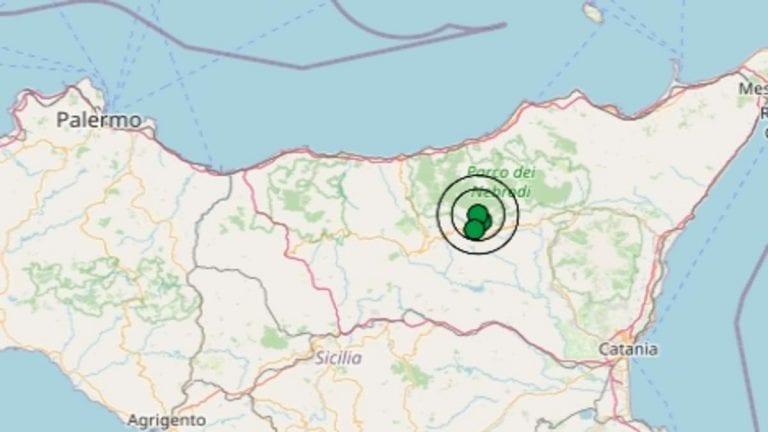 Terremoto in Sicilia oggi, mercoledì 18 novembre 2020, scossa M 3.4 in provincia di Enna – Dati Ingv