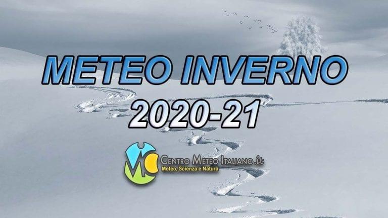 METEO INVERNO 2020-21 – Prossimo trimestre ALTISONANTE, con un DICEMBRE SUPER e seguito sottotono