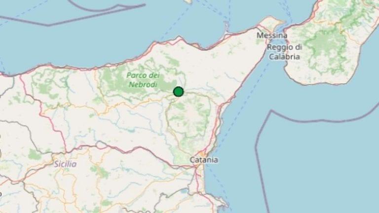 Terremoto in Sicilia oggi, venerdì 20 novembre 2020, scossa M 2.1 provincia Catania   Dati Ingv