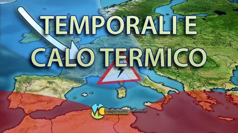 METEO ROMA: MALTEMPO in atto sulla Capitale, forti venti e temperature in calo nel WEEKEND