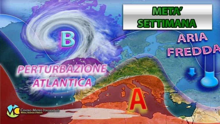 METEO ITALIA: settimana di tempo stabile, MA con alcune ECCEZIONI