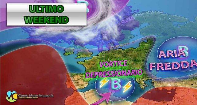 Meteo, weekend con il maltempo autunnale in gran parte dell'Italia.