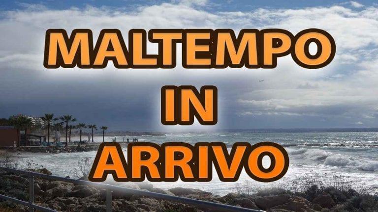 METEO ITALIA: maltempo nel weekend, CROLLO delle TEMPERATURE a seguire?