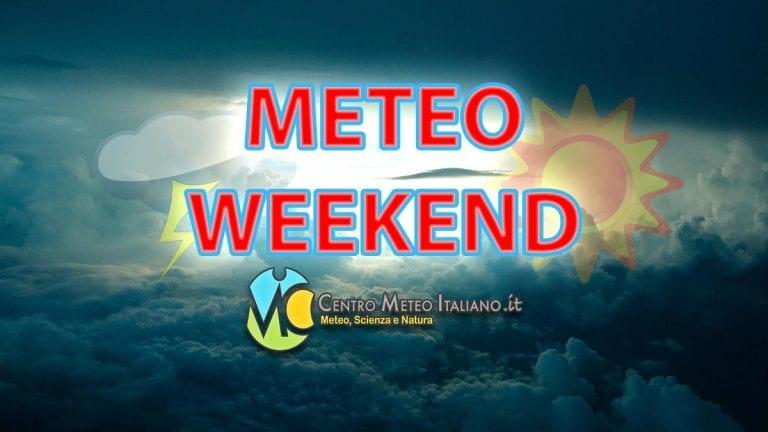 METEO WEEKEND – Focus MALTEMPO sulle Isole Maggiori, possibili nuovi NUBIFRAGI