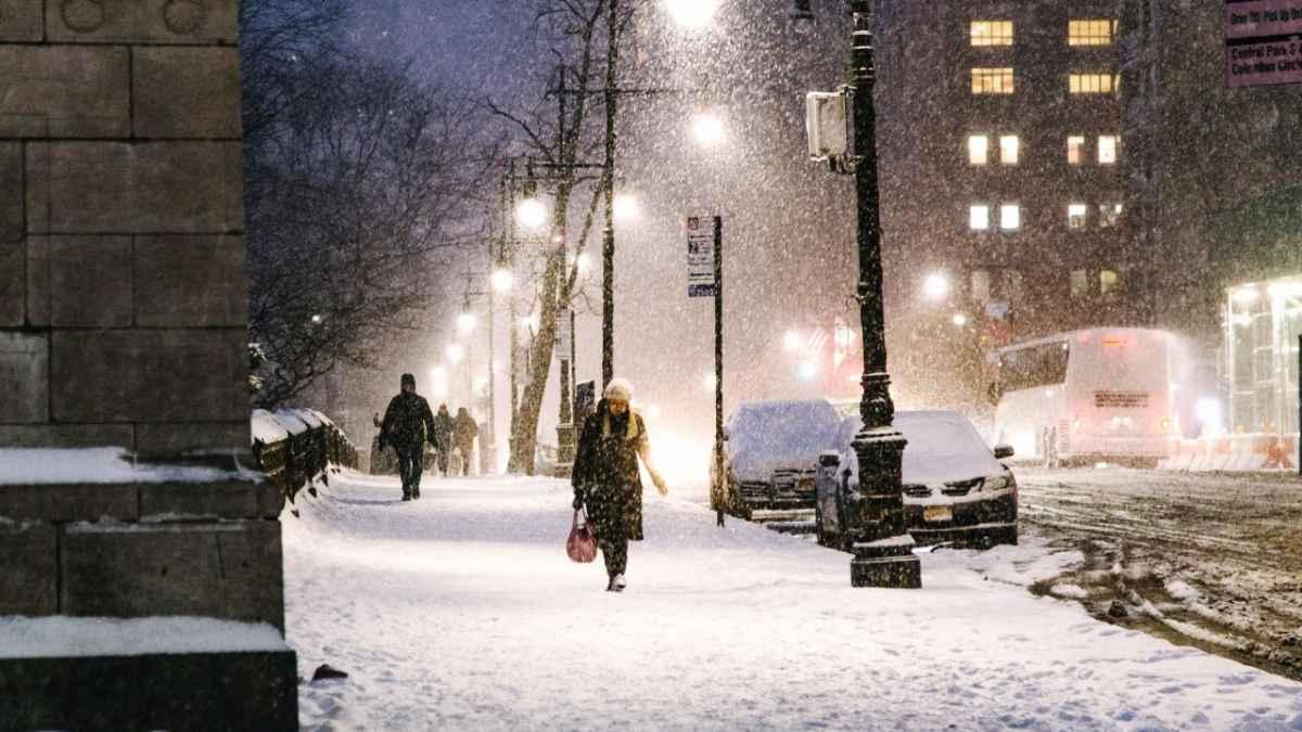 Prossima settimana con freddo in arrivo e fiocchi di neve a bassa quota, immagine di repertorio fonte ANSA.