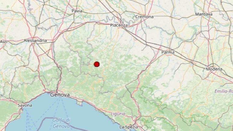 Terremoto in Emilia-Romagna oggi, giovedì 26 novembre 2020: scossa di M 2.0 in provincia di Piacenza