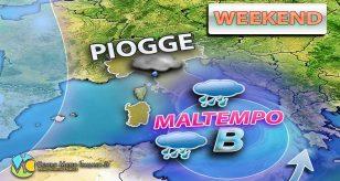 Meteo, maltempo in arrivo al sud Italia con piogge torrenziali e nubifragi.