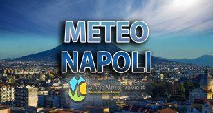 METEO NAPOLI - Settimana in compagnia delle piogge, ecco le previsioni
