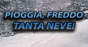 La prima parte dell'Inverno risulterà fredda, piovosa e con tanta neve - elaborazione Centro Meteo Italiano