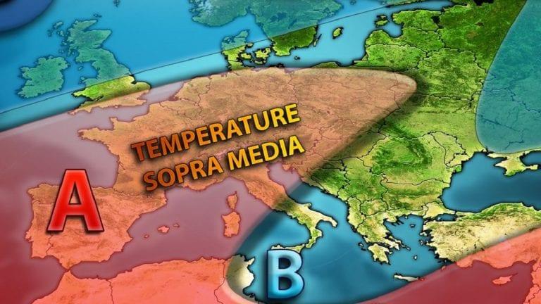 METEO GENNAIO – Si profila un mese più mite e senza irruzioni FREDDE? Ecco i dettagli