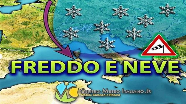 METEO GENNAIO 2021 – Vortice Polare in difficoltà, possibile avvio con GELO e NEVE in Europa; ripercussioni anche in Italia? Le ultimissime