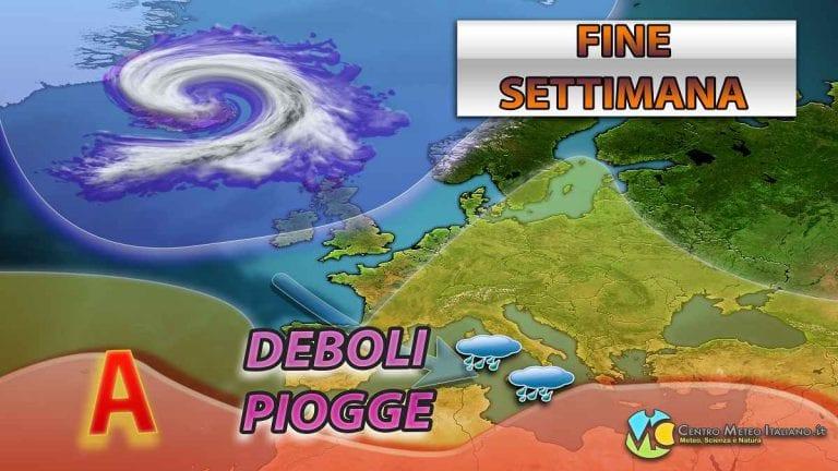 METEO ITALIA – Qualche pioggia nel weekend, ma tempo STABILE a seguire; ecco le previsioni