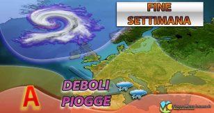 METEO ITALIA - Qualche pioggia nel weekend, ma tempo STABILE a seguire; ecco le previsioni