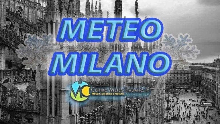 METEO MILANO – copiose NEVICATE in atto sulla LOMBARDIA e molto FREDDO; ecco le previsioni