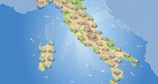Previsioni meteo in Italia per domani 20 dicembre 2020