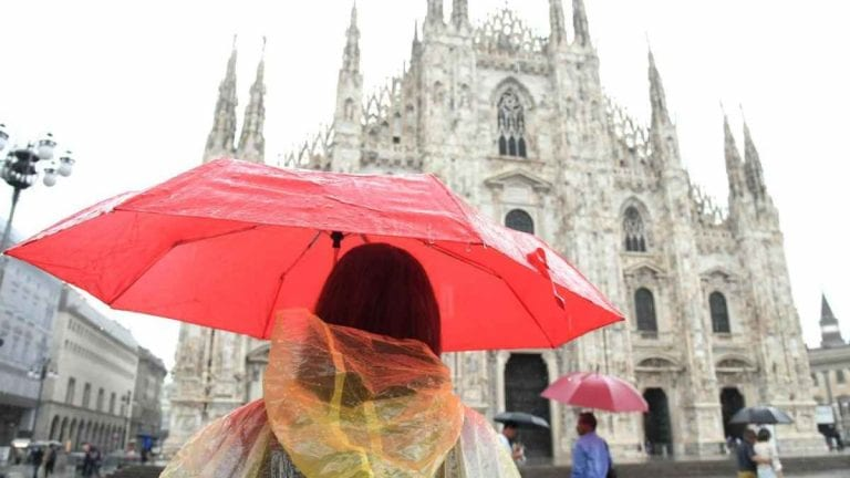 METEO MILANO – PEGGIORAMENTO alle porte dell'ITALIA, qualche PIOGGIA attesa anche in città, ecco le previsioni