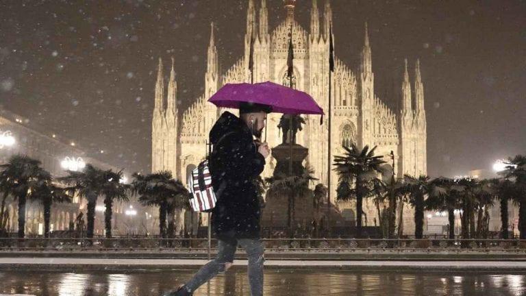 METEO MILANO – PEGGIORAMENTO INVERNALE in arrivo con NEVE fino in pianura nel WEEKEND, ecco le previsioni