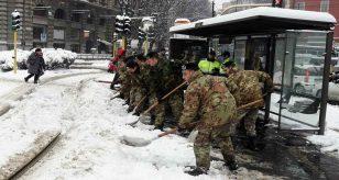 Meteo - arrivano freddo e neve anche copiosa - fonte: ansa