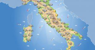 Previsioni meteo in Italia per domani 29 dicembre 2020